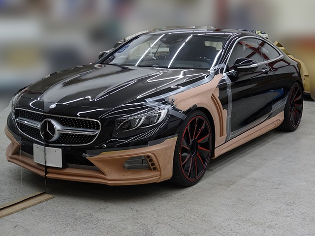 WALD C217 S Class Coupe Black Bison Edition Preview