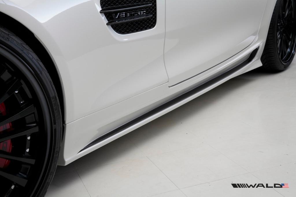 Mercedes benz c190 wald amg gt black bison 2015 present wald usa wald mercedes benz c190 amg gt gts black bison side skirt 2015 2016 2017 2018 publicscrutiny Choice Image