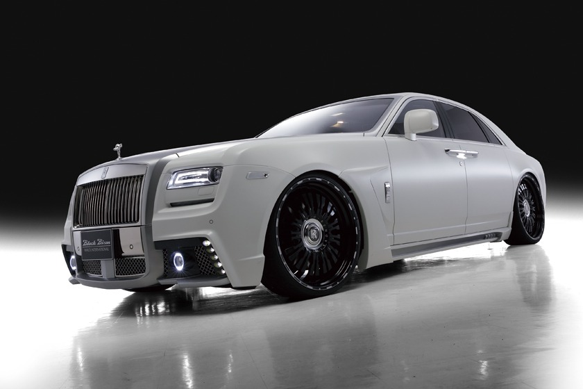 Rolls royce ghost series i wald black bison 2010 2014 wald usa wald rolls royce ghost black bison edition body kit front angle 2010 2011 2012 2013 2014 publicscrutiny Choice Image