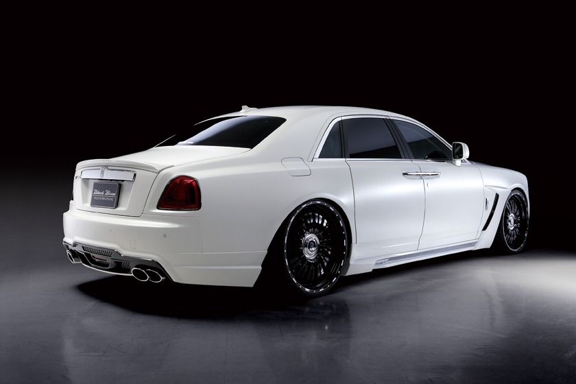 Rolls royce ghost series i wald black bison 2010 2014 wald usa wald rolls royce ghost black bison edition body kit rear angle 2010 2011 2012 2013 2014 publicscrutiny Choice Image