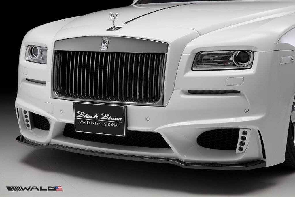 Rolls royce wraith wald black bison 2014 2016 wald usa wald rolls royce wraith black bison edition front bumper 2014 2015 2016 publicscrutiny Choice Image