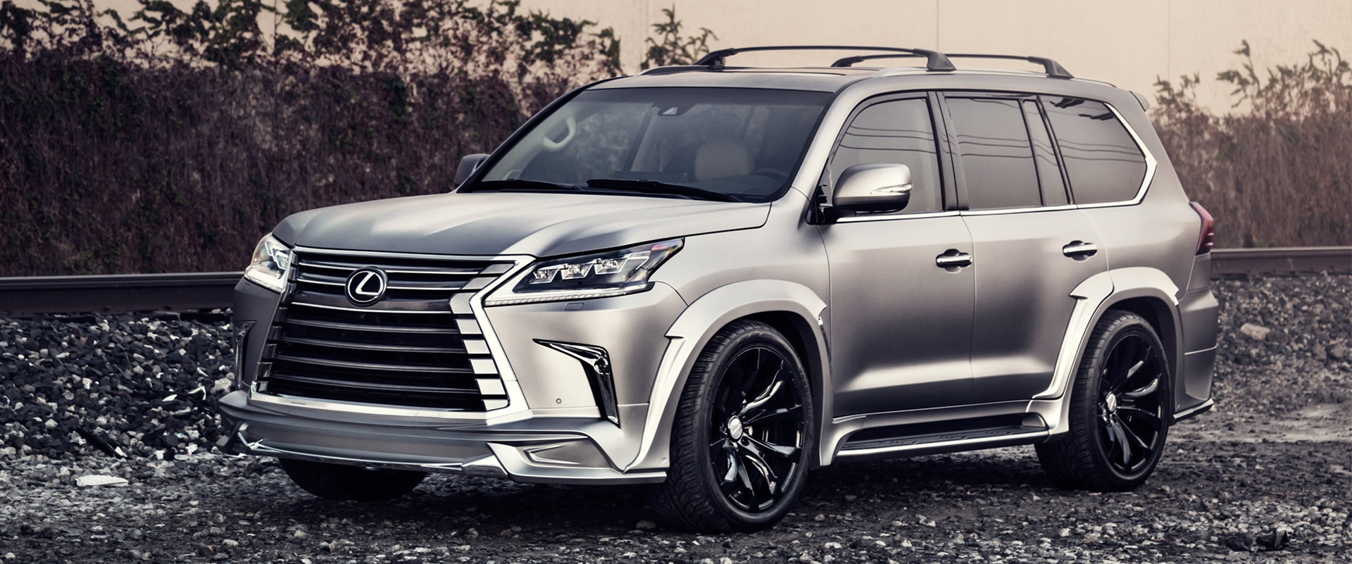 wald lexus lx570 home page banner