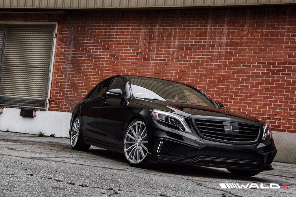 2013 Mercedes S550 >> MERCEDES BENZ W222 WALD S CLASS BLACK BISON 2014 – 2017 ...