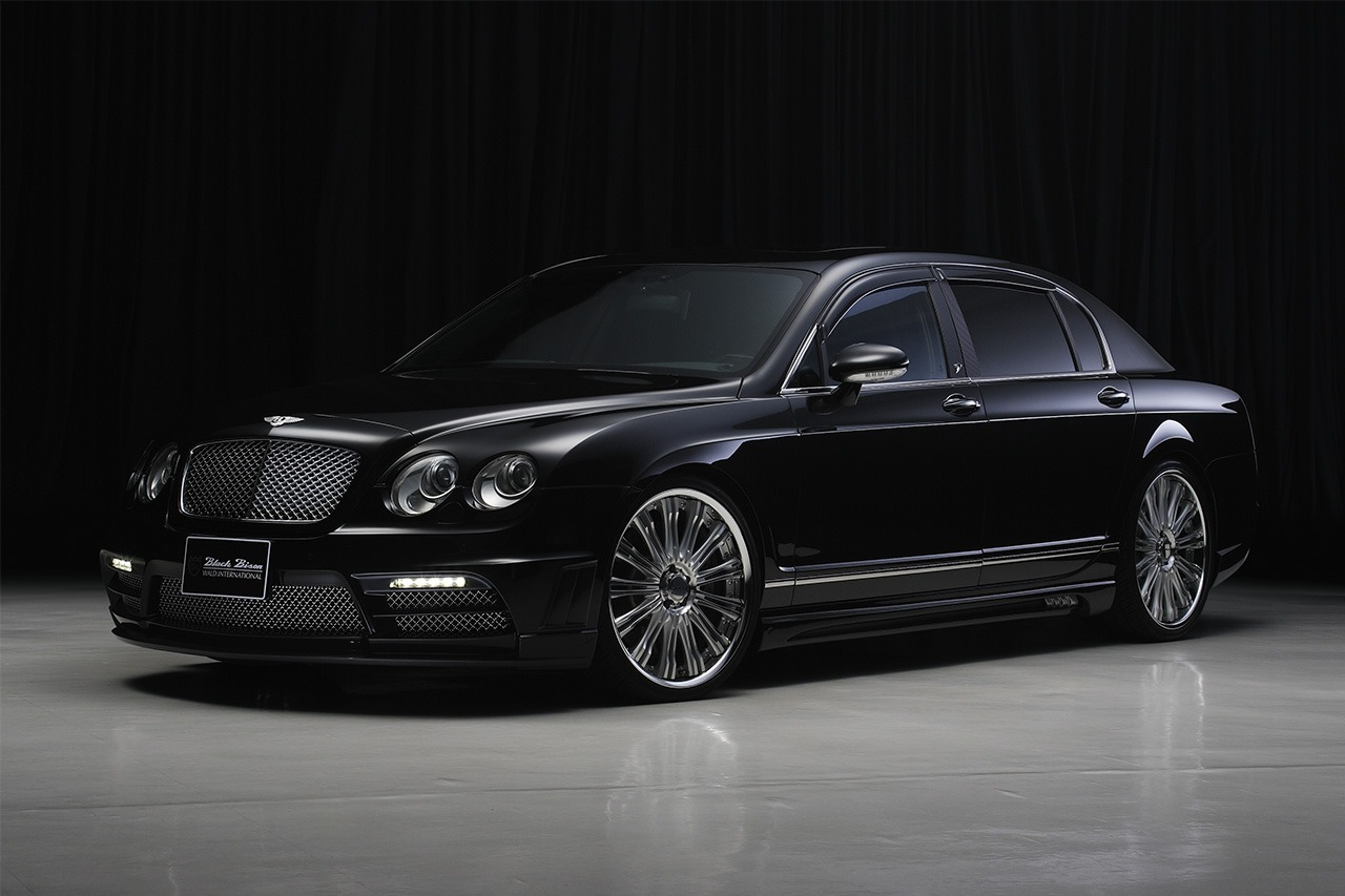 BENTLEY CONTINENTAL FLYING SPUR WALD BLACK BISON 2006 – 2013