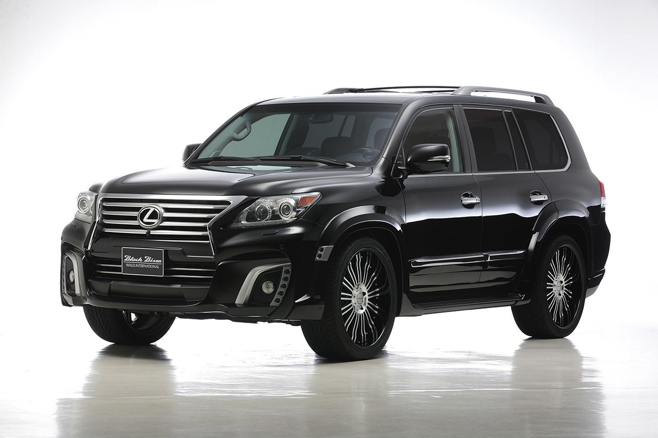 LEXUS LX570 WALD BLACK BISON 2013 – 2015