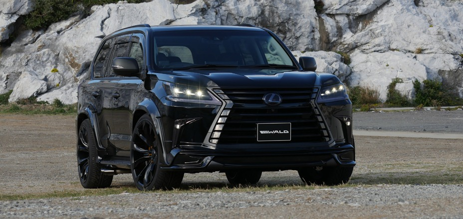 lexus lx570 wald sports line 2016 present wald usa. Black Bedroom Furniture Sets. Home Design Ideas