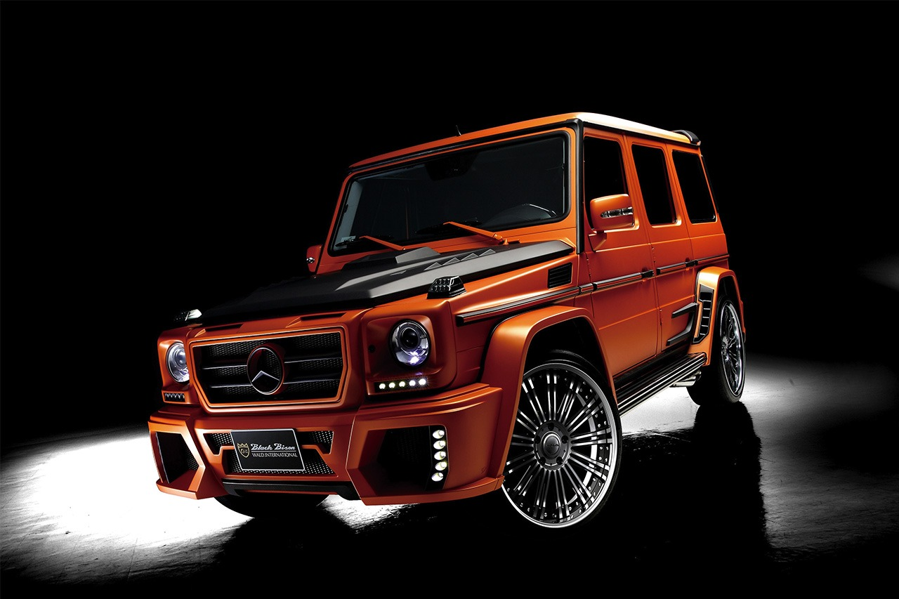 MERCEDES BENZ W463 WALD G WAGON BLACK BISON 2003 – 2012
