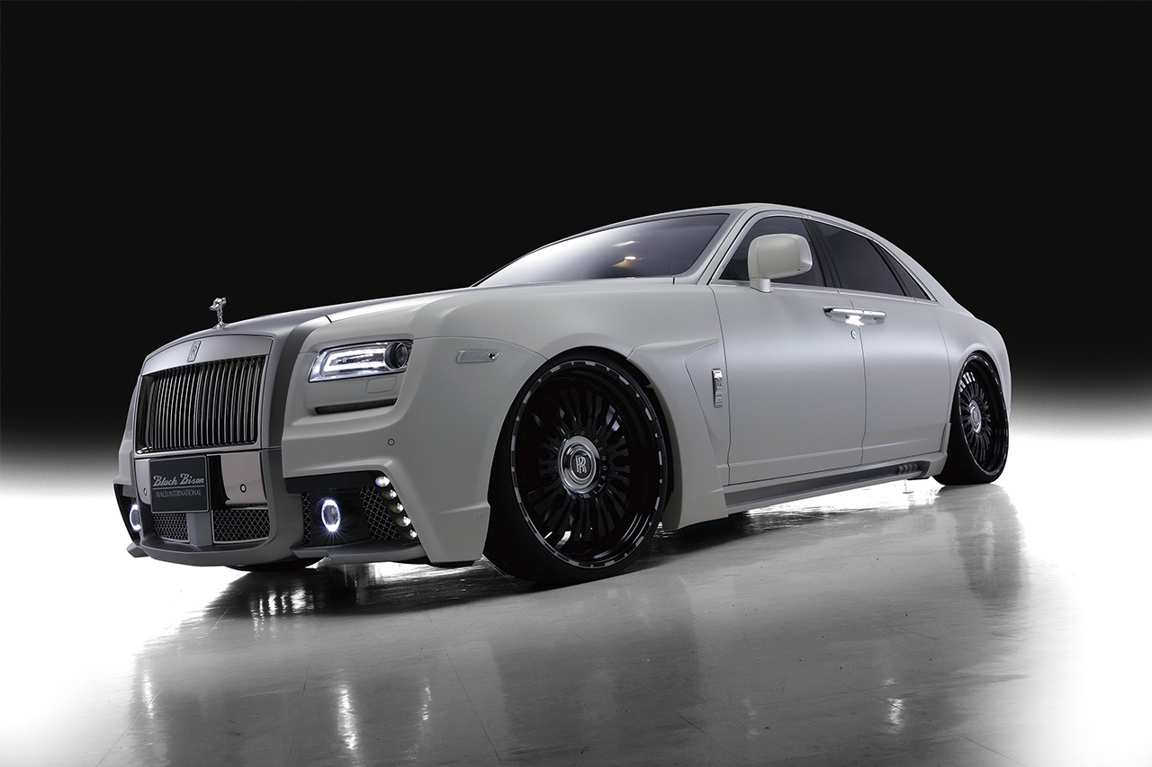 ROLLS ROYCE GHOST SERIES I WALD BLACK BISON 2010 – 2014