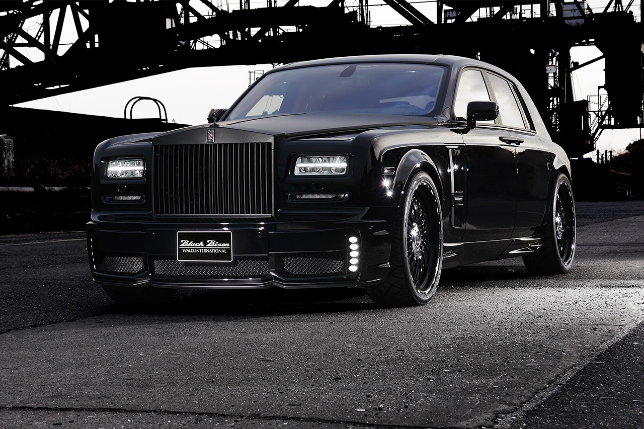 ROLLS ROYCE PHANTOM SERIES II WALD BLACK BISON 2013 – 2017