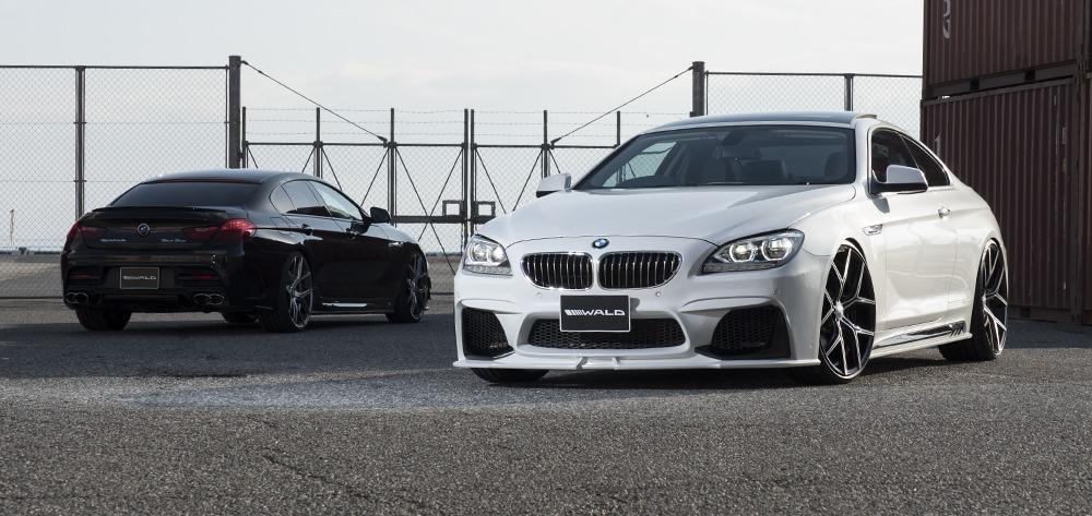 BMW 6 SERIES GRAN COUPE F06 640i 650i WALD BLACK BISON ...