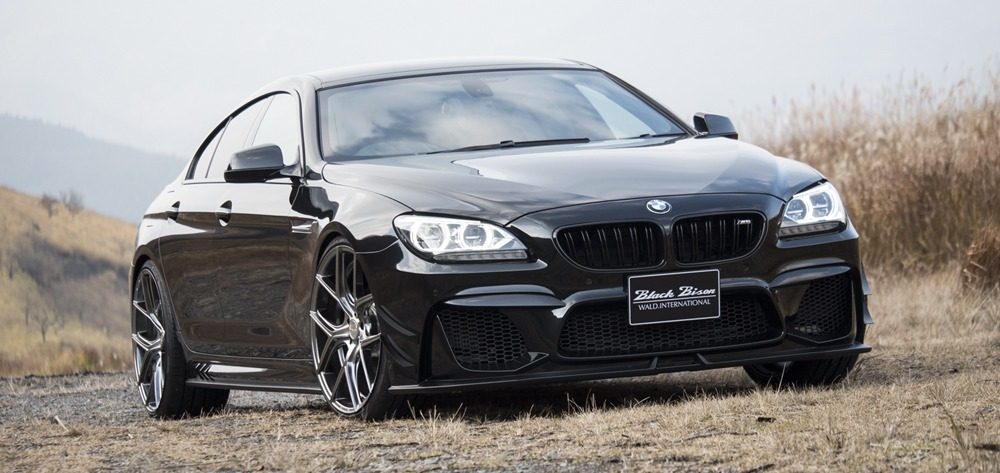 Wald Bmw 6 Series Gran Coupe Black Bison Body Kit Front Angle 2011 2012 2013 2014