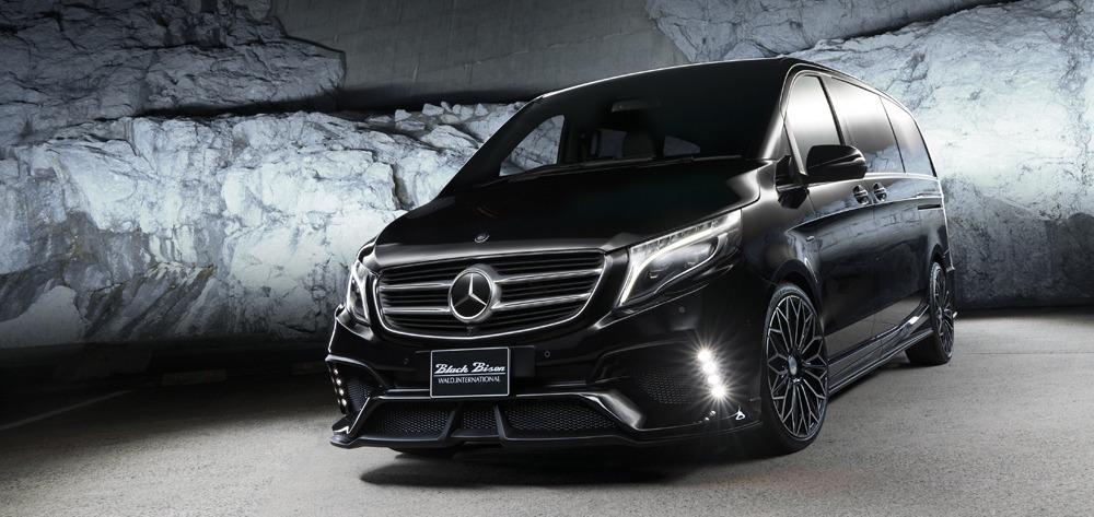 Mercedes Benz Metris W447 Wald V Class Black Bison 2015